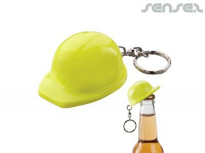 hard hat bottle opener keyrings promotional bottle. Black Bedroom Furniture Sets. Home Design Ideas